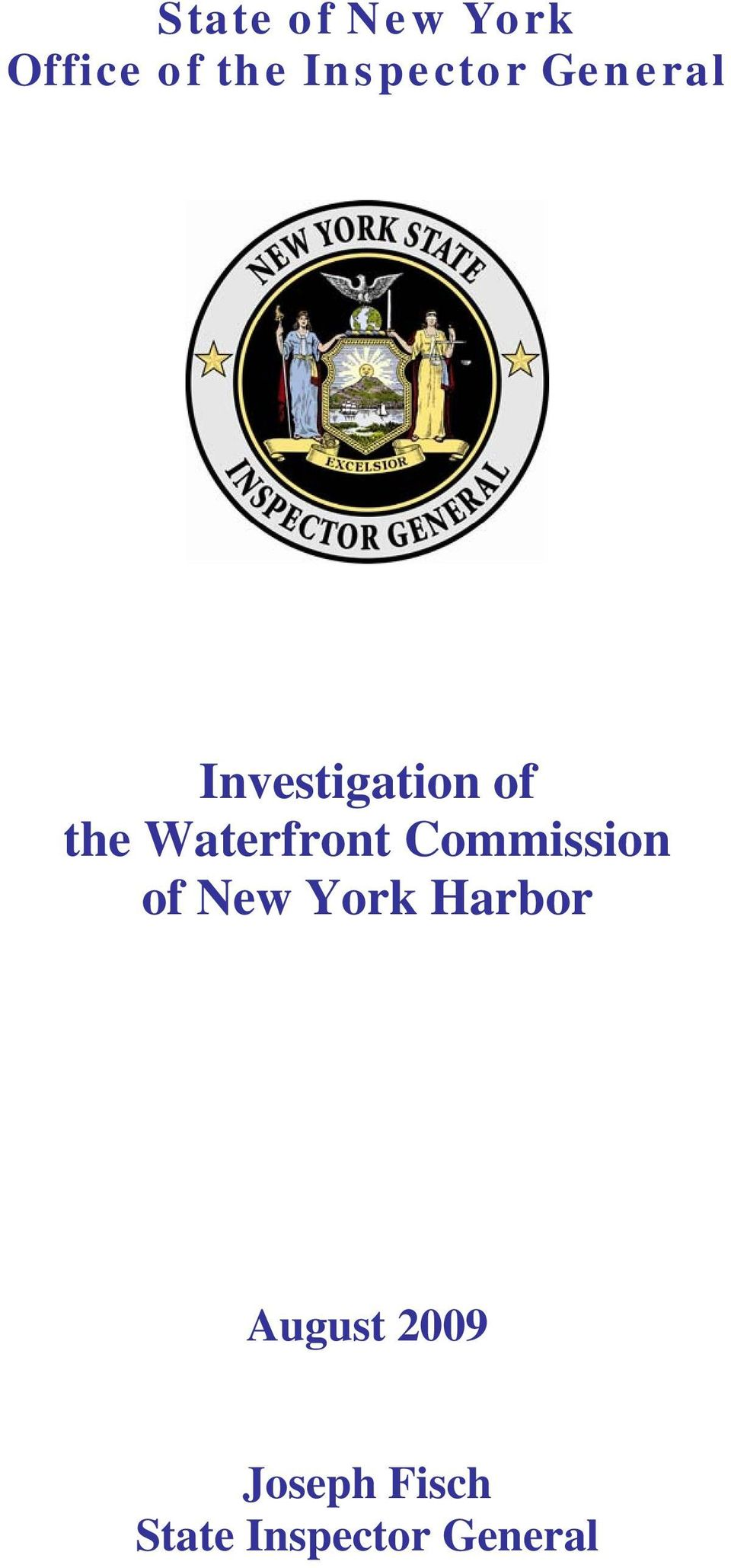 Waterfront Commission of New York