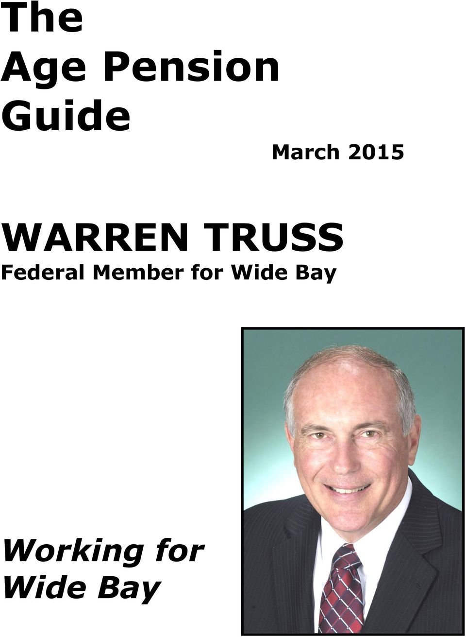 Federal Member for Wide