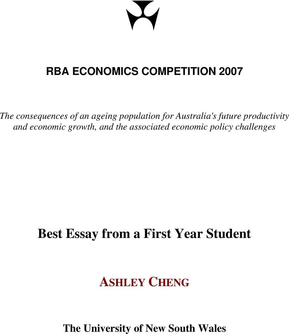 growth, and the associated economic policy challenges Best Essay