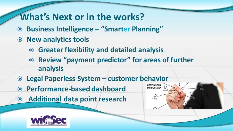 flexibility and detailed analysis Review payment predictor for areas