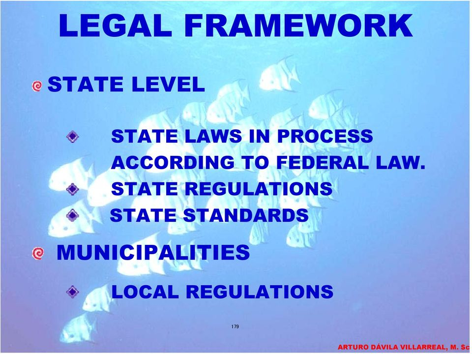 LAW. STATE REGULATIONS STATE