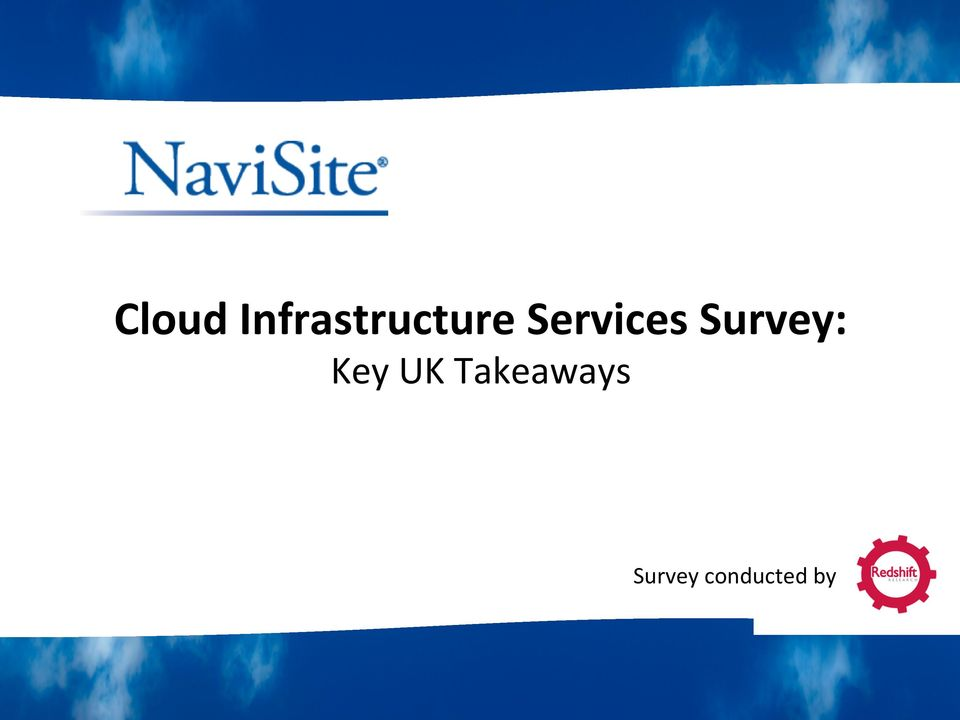 Services Survey: