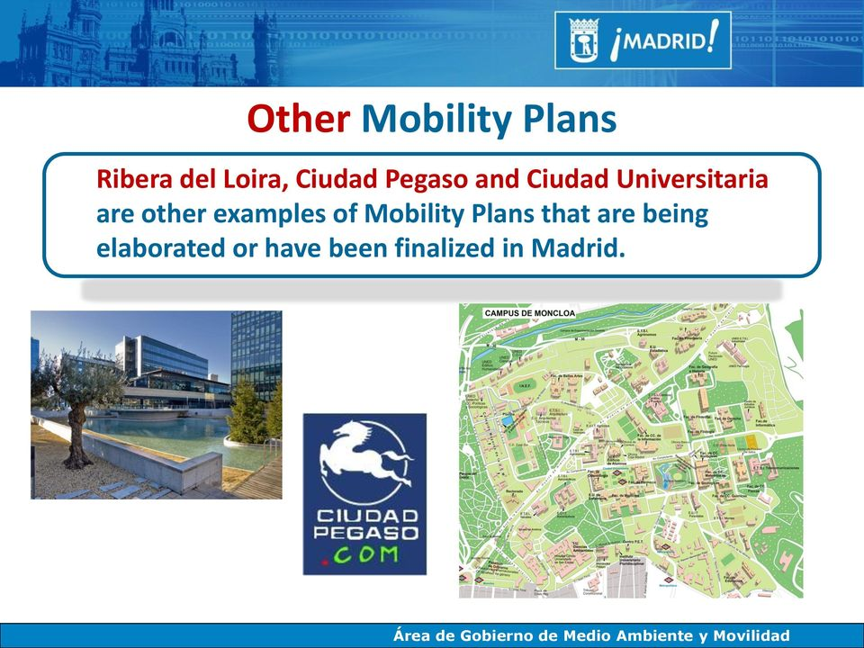 other examples of Mobility Plans that are