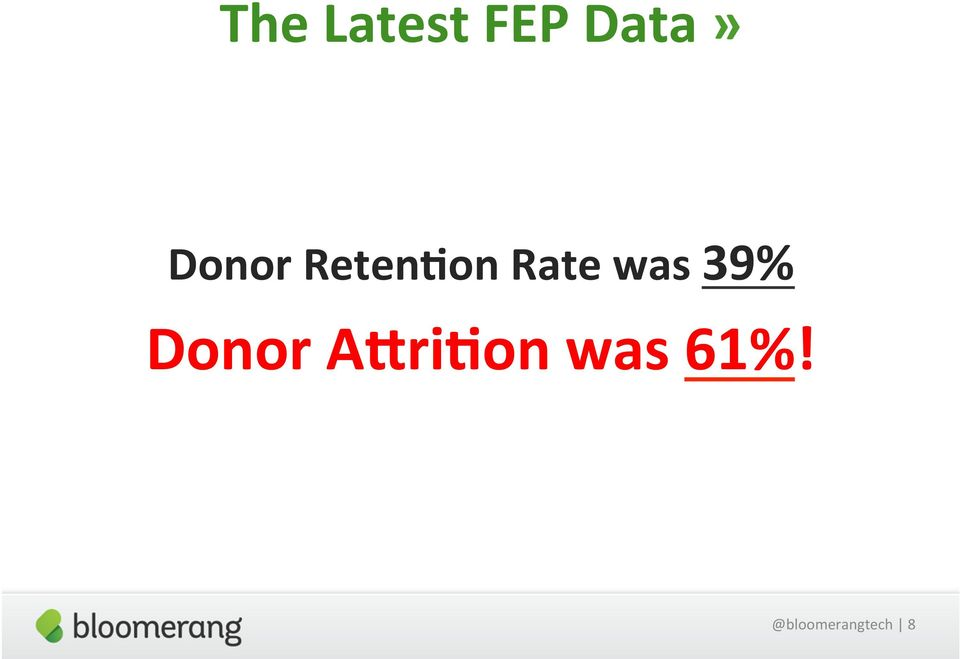 was 39% Donor A_ri)on