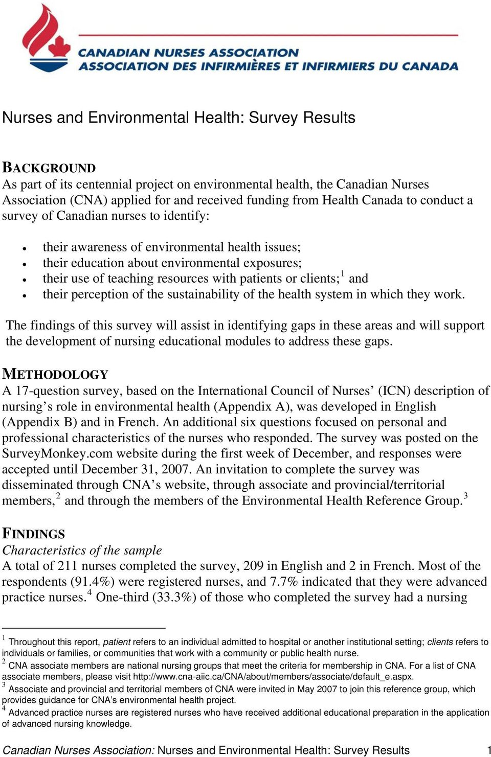 patients or clients; 1 and their perception of the sustainability of the health system in which they work.