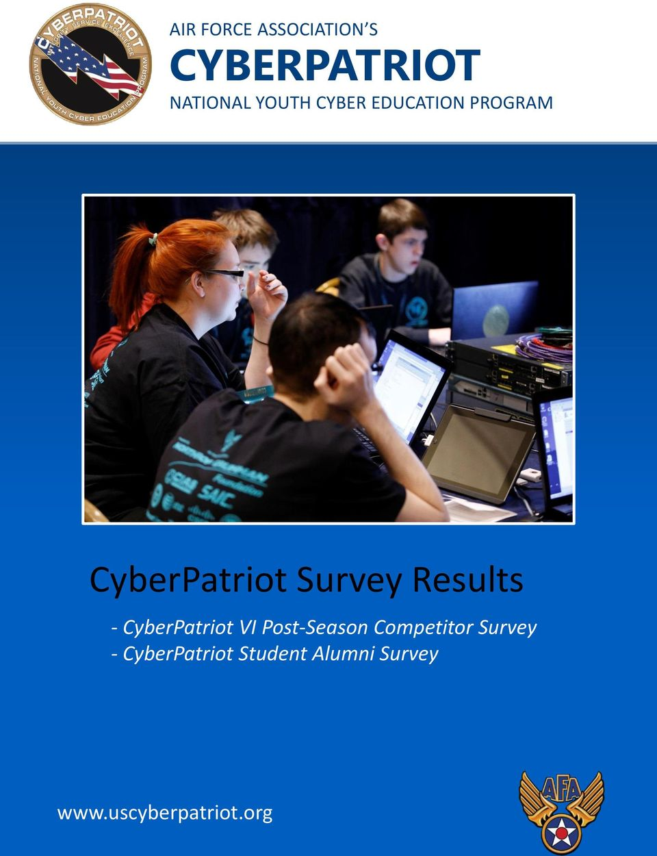- CyberPatriot VI Post-Season Competitor Survey -