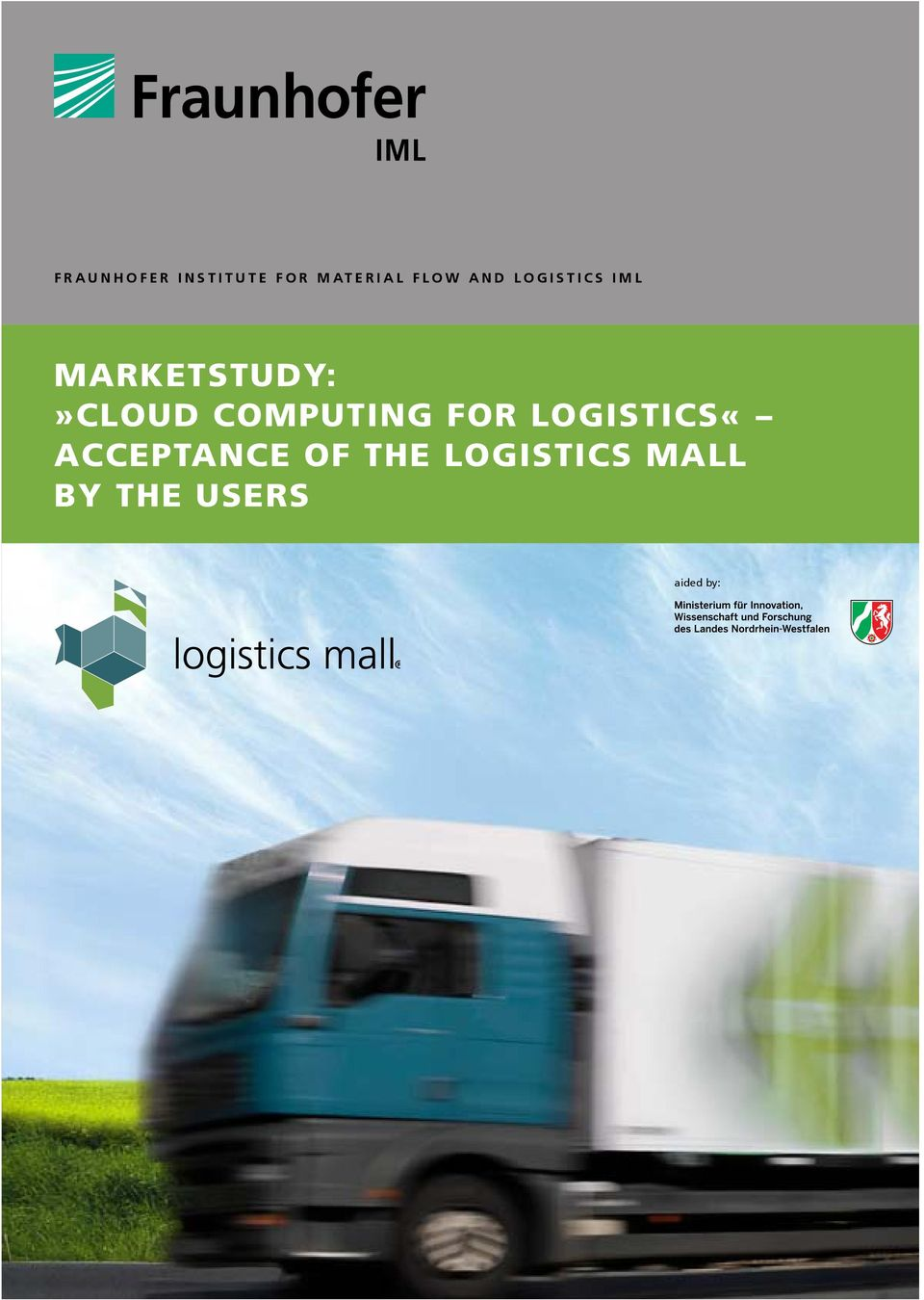 Computing for LogistiCS«ACCEPTANCE OF