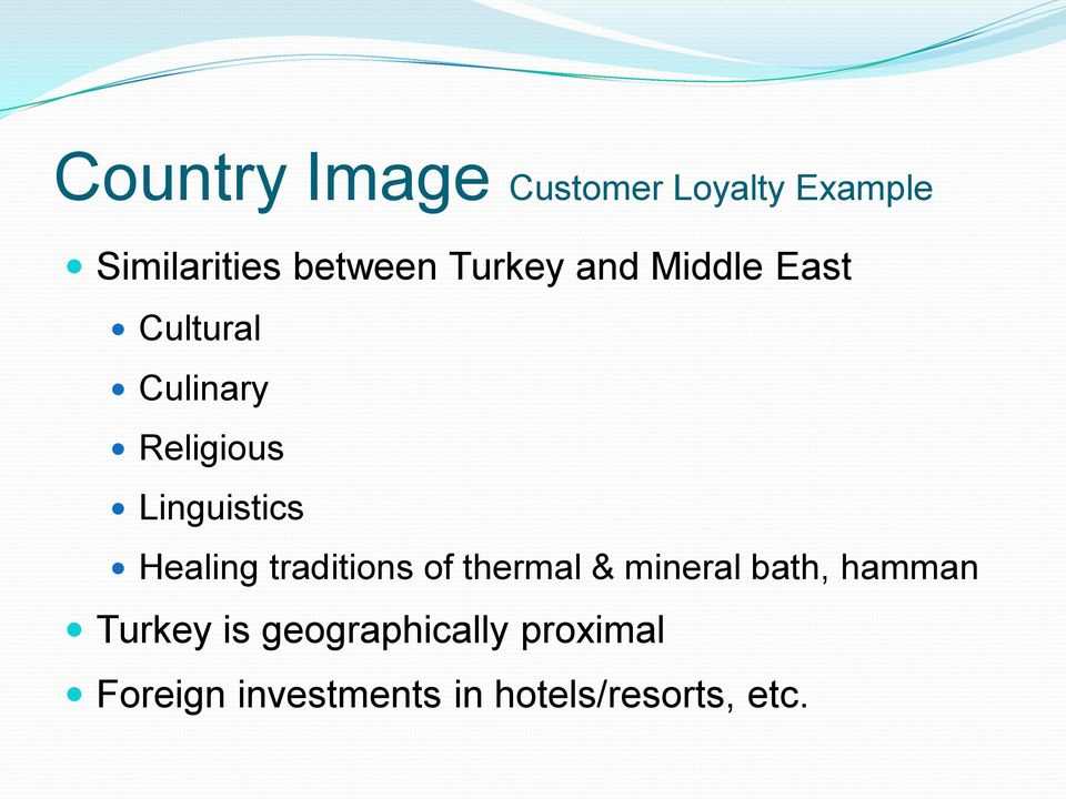 Healing traditions of thermal & mineral bath, hamman Turkey is
