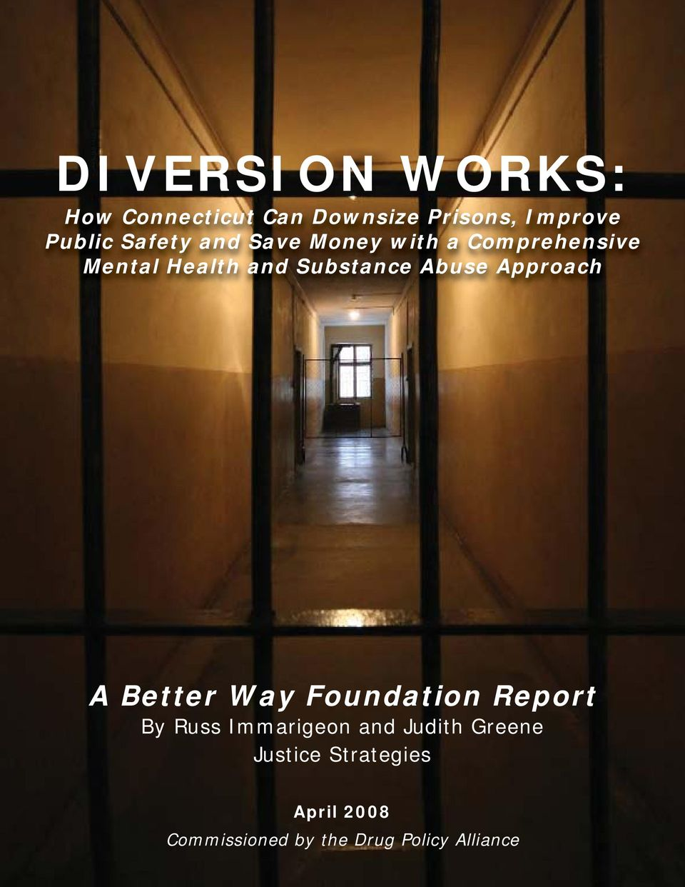 Abuse Approach A Better Way Foundation Report By Russ Immarigeon and