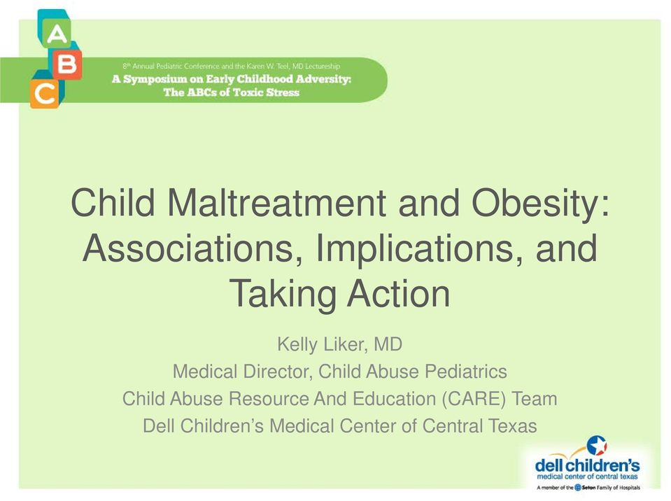 Director, Child Abuse Pediatrics Child Abuse Resource And