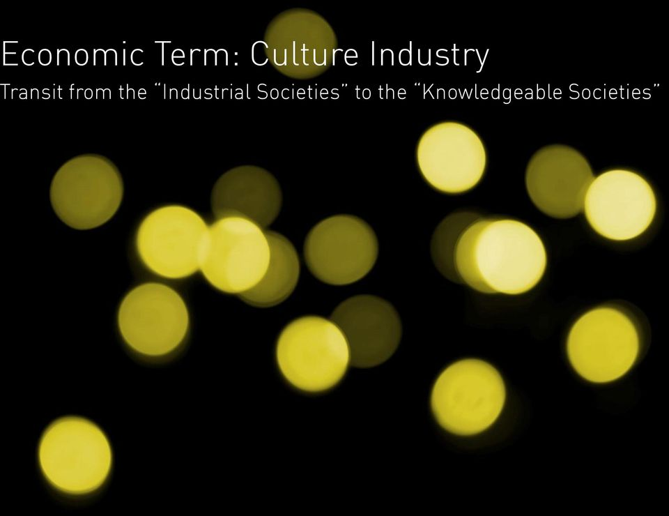the Industrial Societies