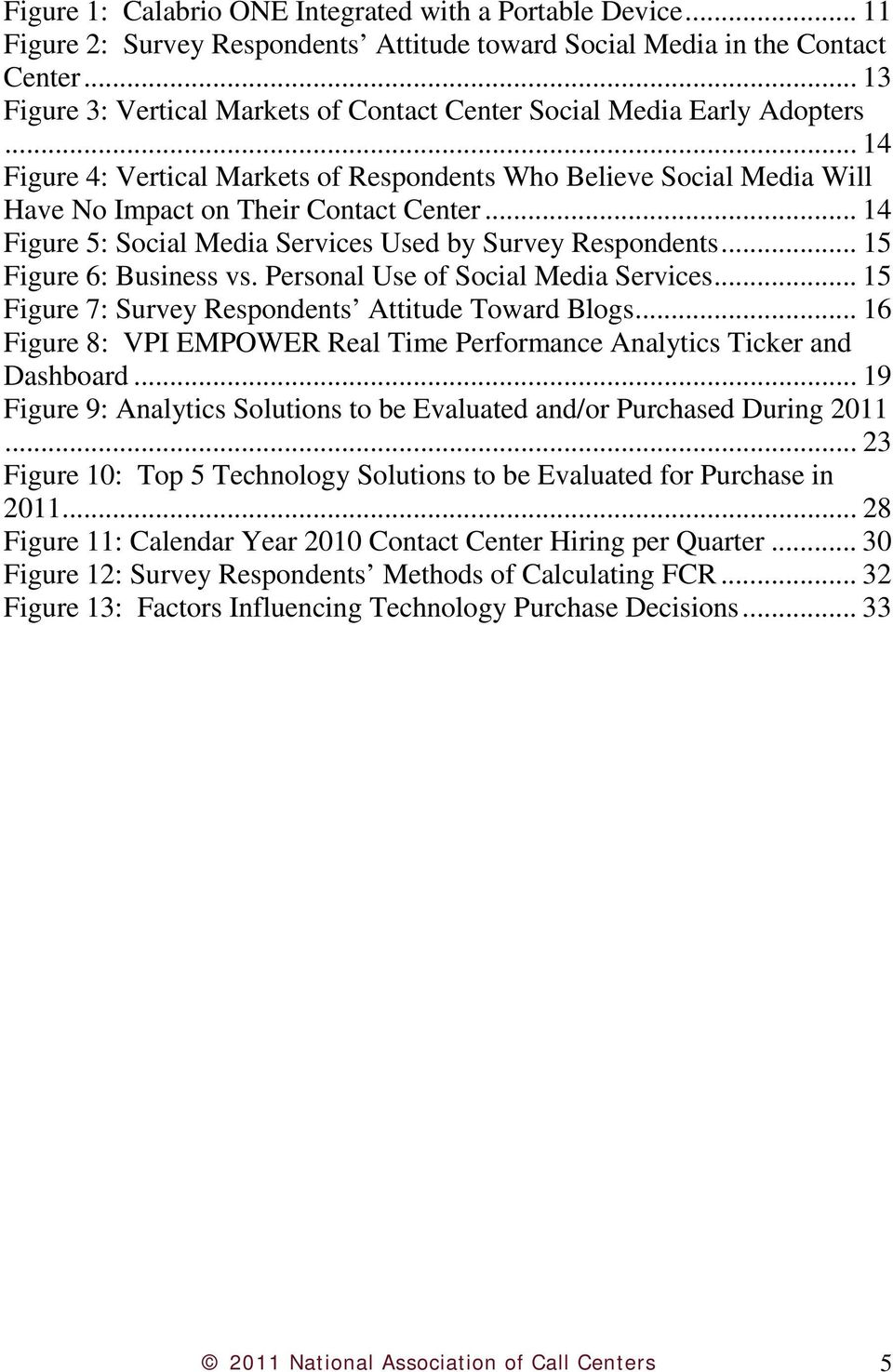 .. 14 Figure 5: Social Media Services Used by Survey Respondents... 15 Figure 6: Business vs. Personal Use of Social Media Services... 15 Figure 7: Survey Respondents Attitude Toward Blogs.