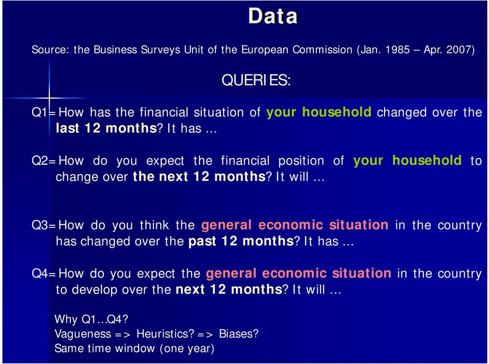 .. Q2=How do you expect the financial position of your household to change over the next 12 months? It will.