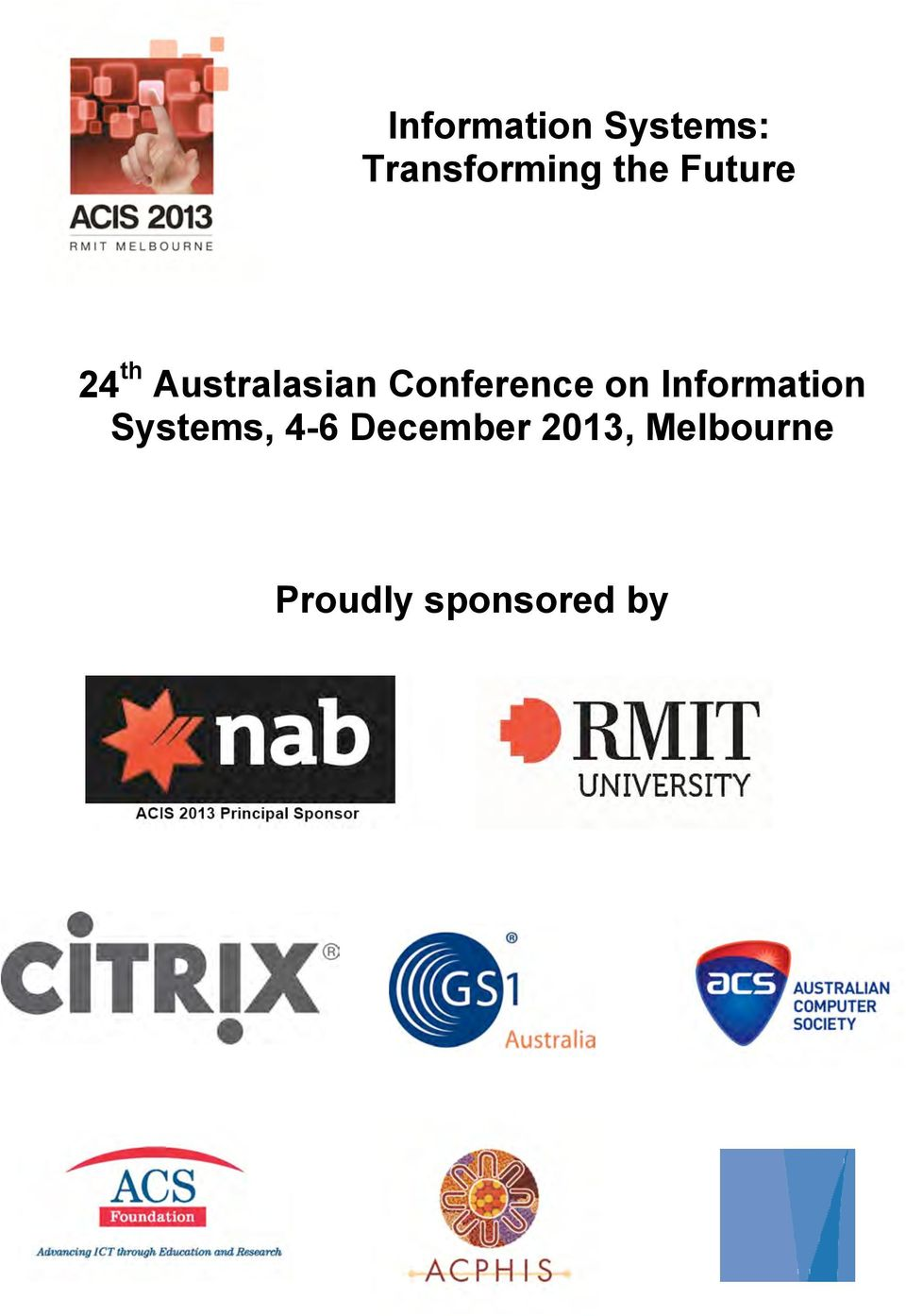 Conference on Information Systems,