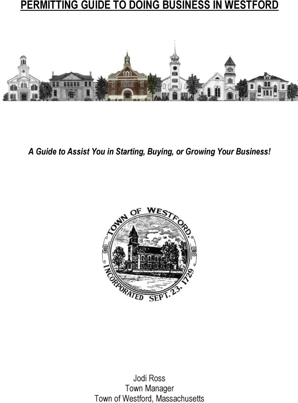 Starting, Buying, or Growing Your Business!