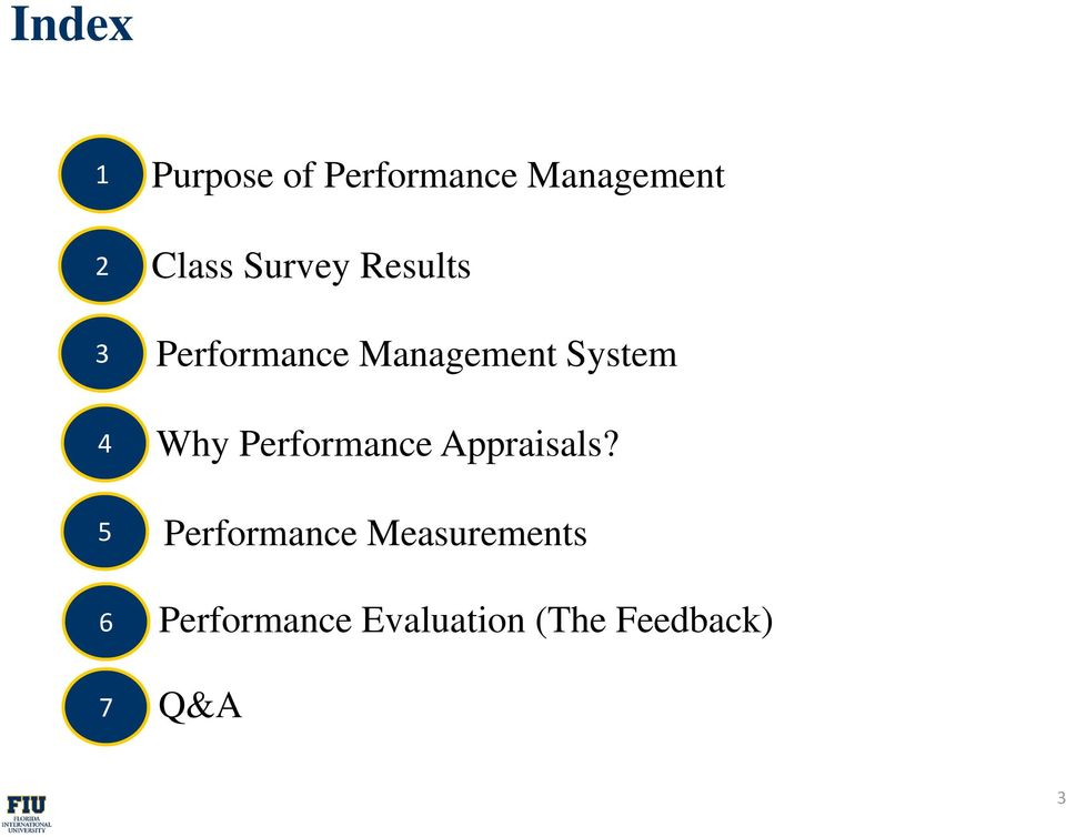 Why Performance Appraisals?