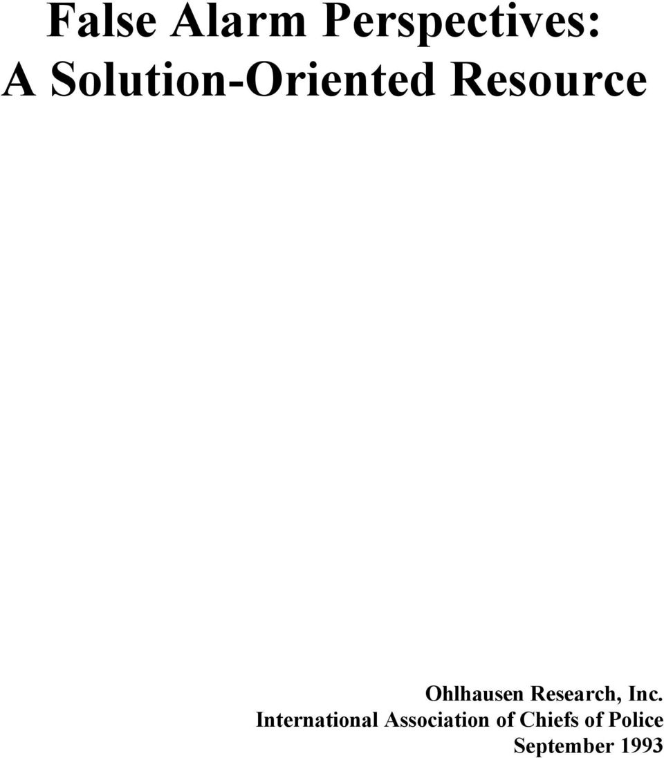 Ohlhausen Research, Inc.