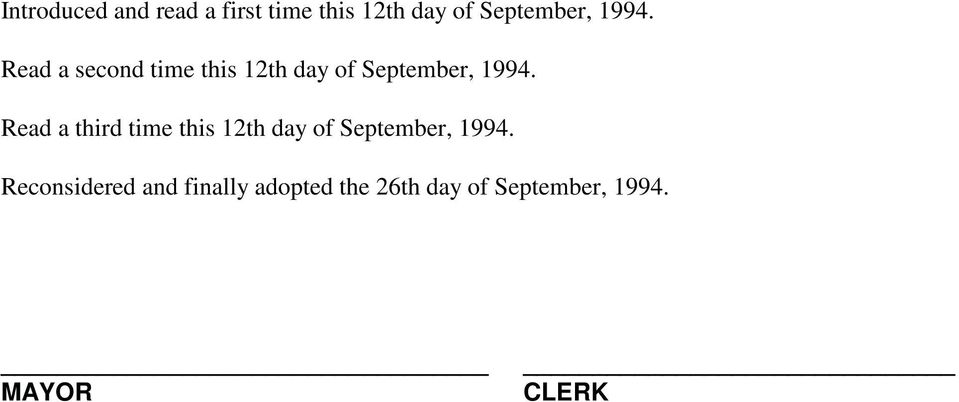 Read a third time this 12th day of September, 1994.