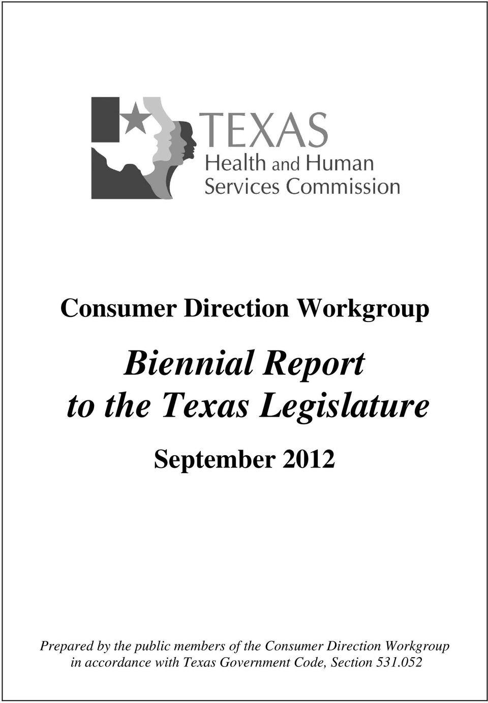 public members of the Consumer Direction Workgroup