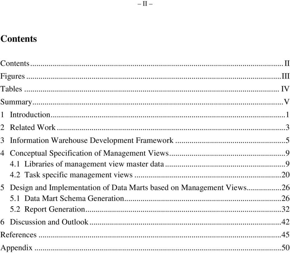 1 Libraries of management view master data...9 4.2 Task specific management views.
