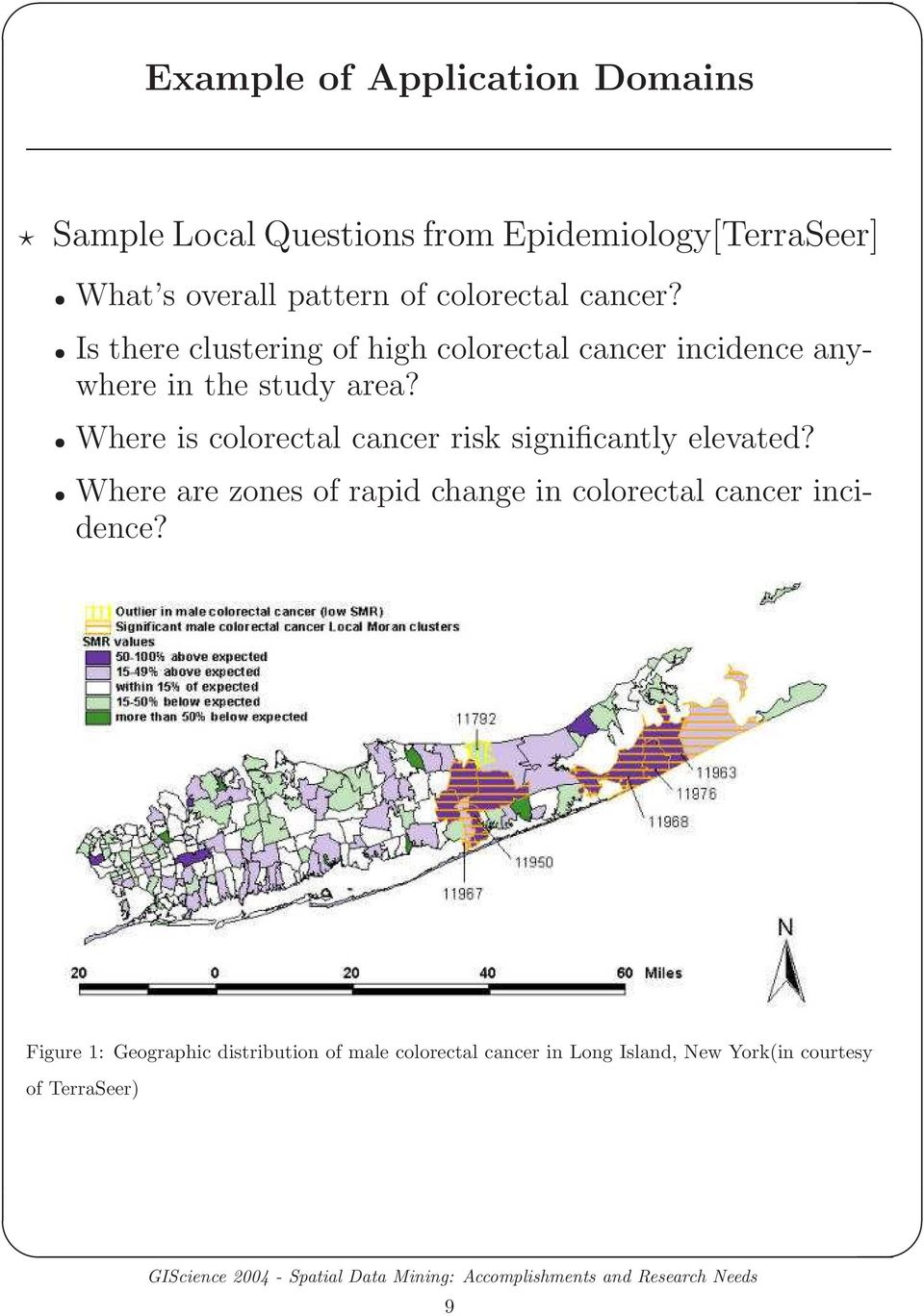 Where is colorectal cancer risk significantly elevated?