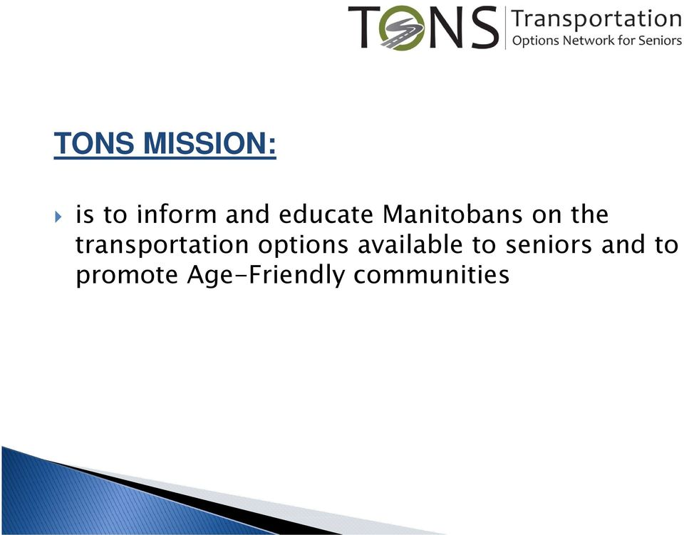 Manitobans on the transportation options