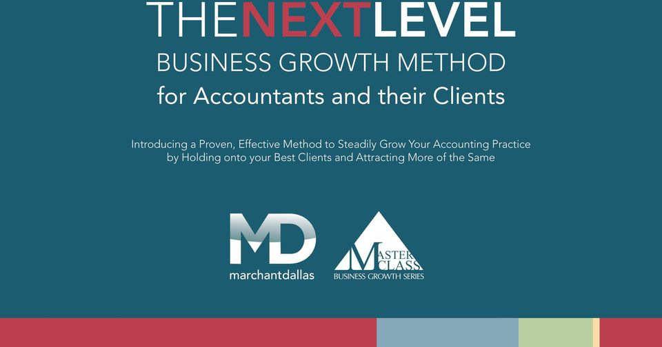 Method to Steadily Grow Your Accounting Practice by