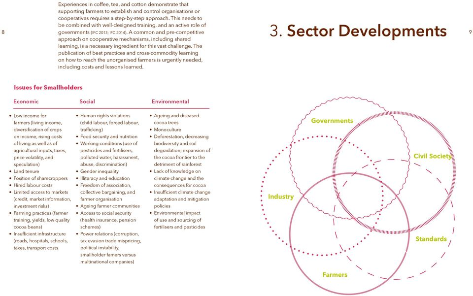 Sector Developments 9 learning, is a necessary ingredient for this vast challenge.