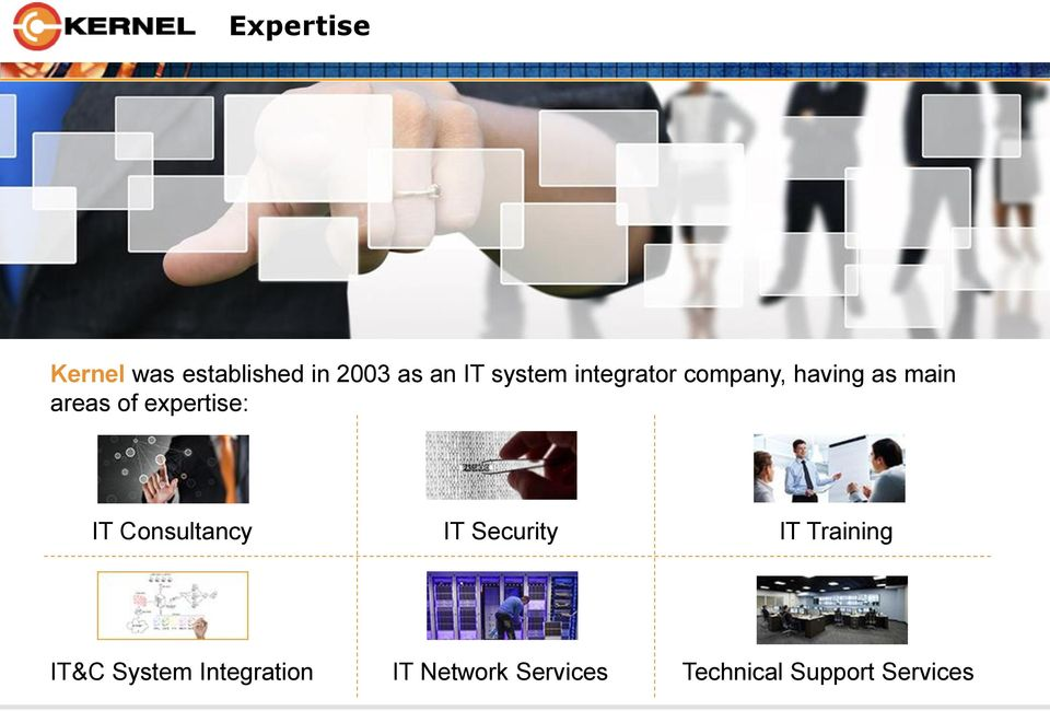 expertise: IT Consultancy IT Security IT Training IT&C