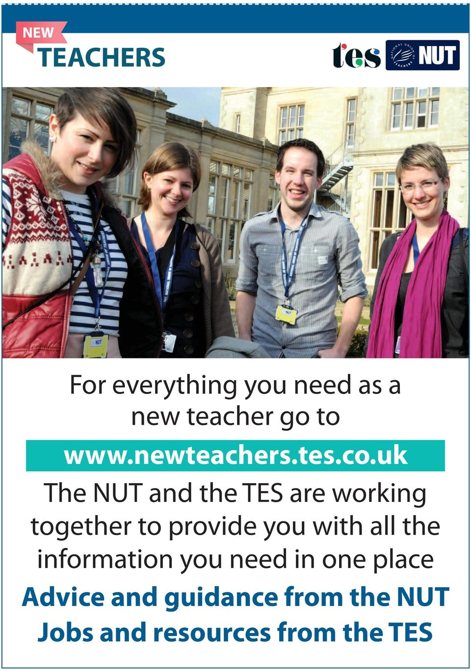 uk The NUT and the TES are working together to provide you