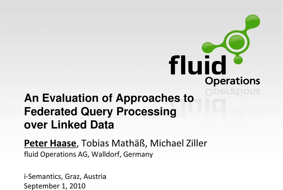 Mathäß, Michael Ziller fluid Operations AG,
