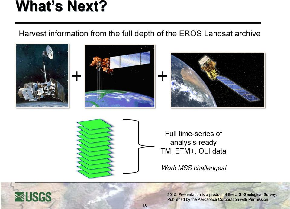 of the EROS Landsat archive + + Full