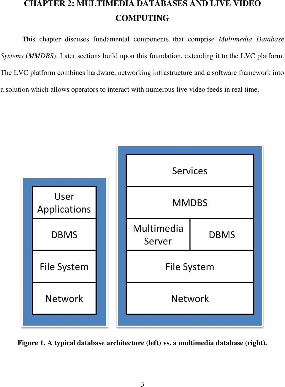 The LVC platform combines hardware, networking infrastructure and a software framework into a solution which allows