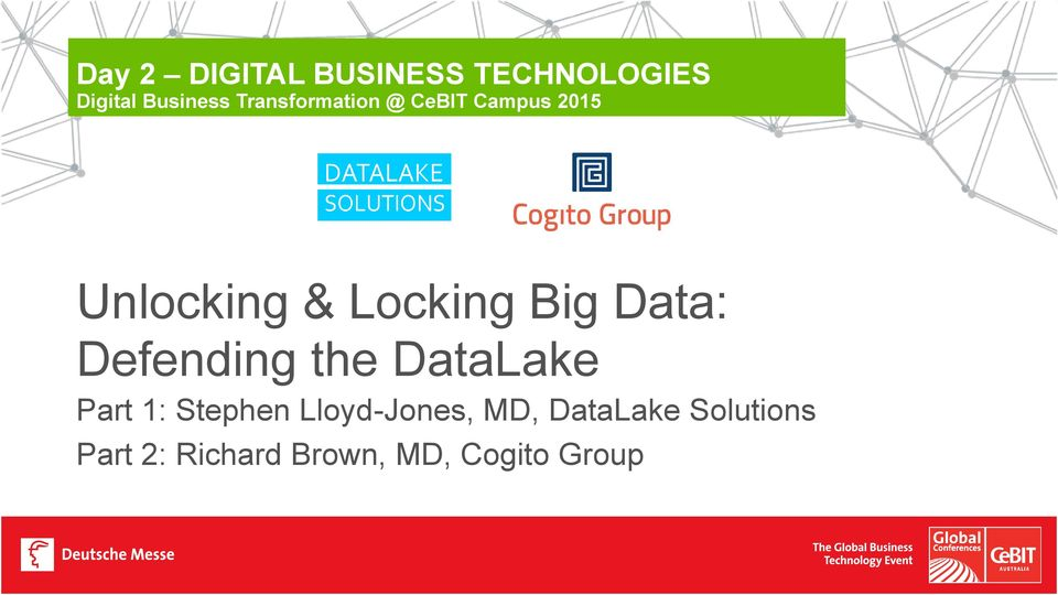 Big Data: Defending the DataLake Part 1: Stephen