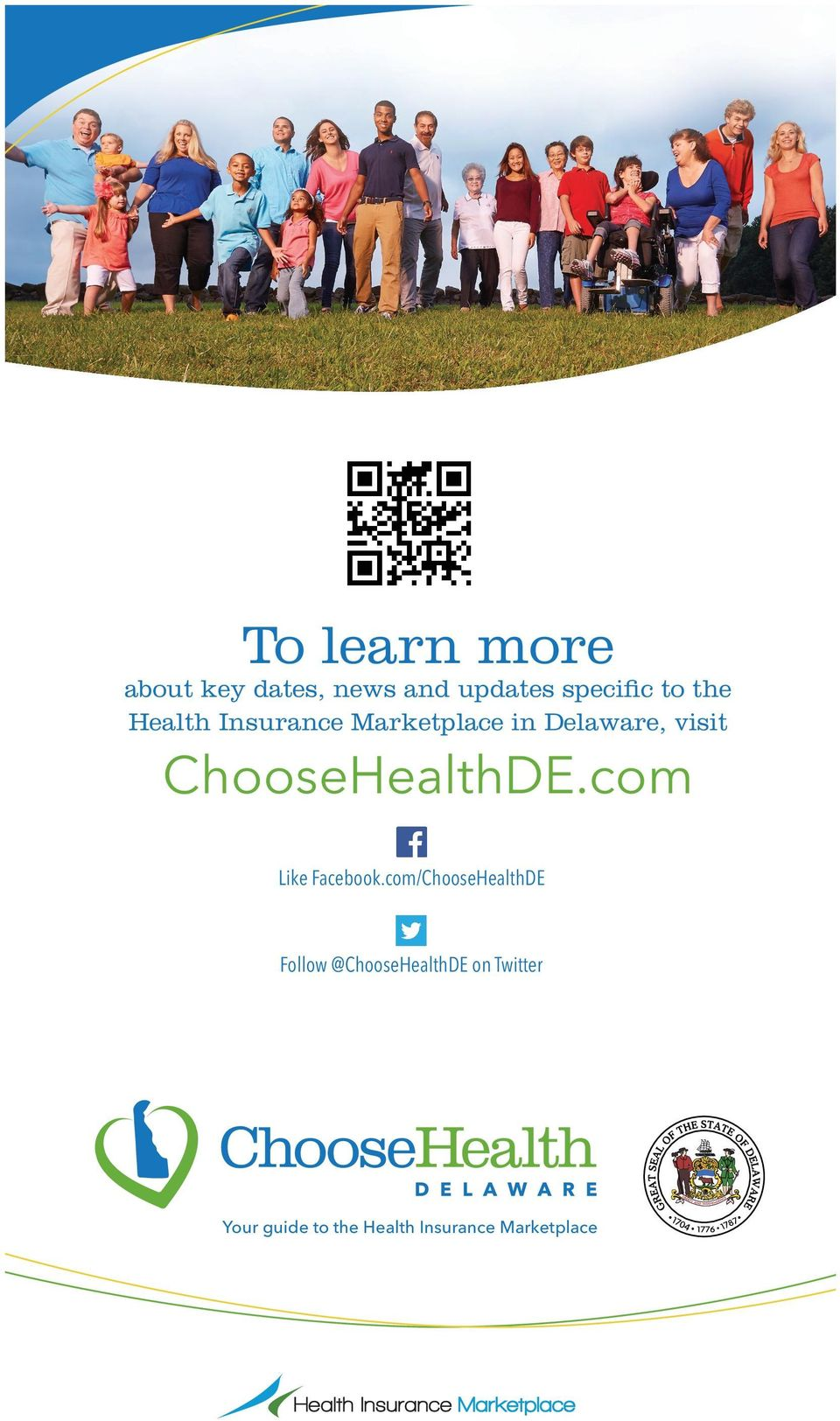 com/ChooseHealthDE Follow @ChooseHealthDE on Twitter Your guide to the