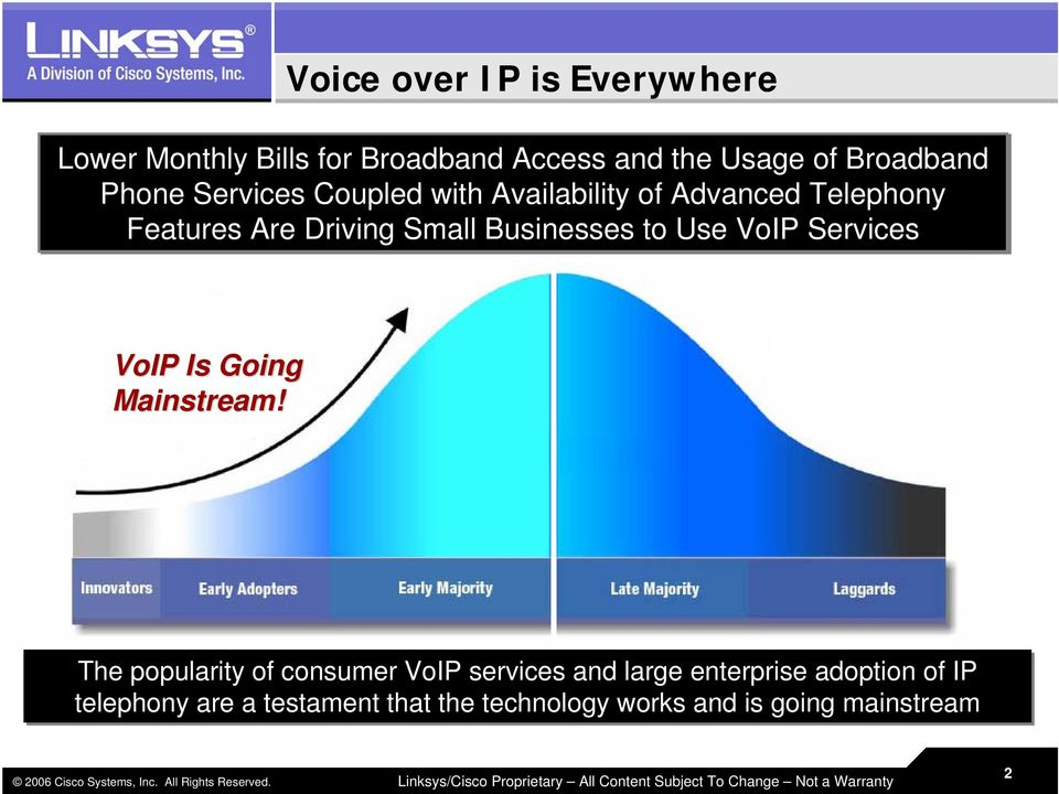 Businesses to Use VoIP Services VoIP Is Going Mainstream!