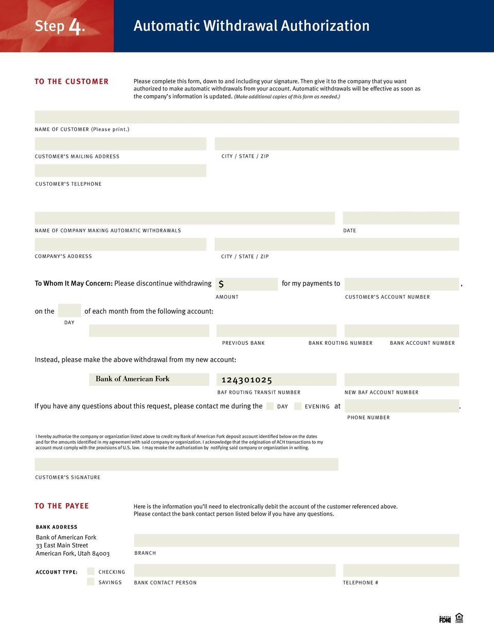 (Make additional copies of this form as needed.) NAME OF CUSTOMER (Please print.