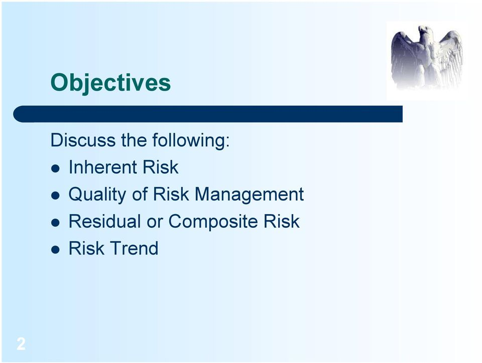 Quality of Risk Management