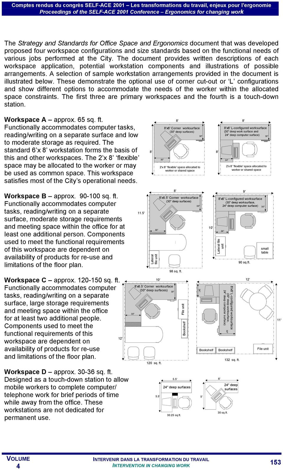 A selection of sample workstation arrangements provided in the document is illustrated below.