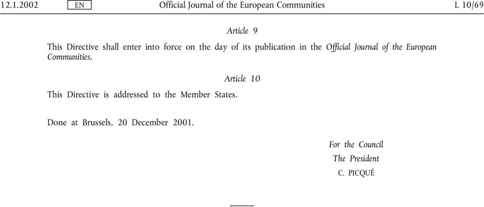 Journal of the European Communities.