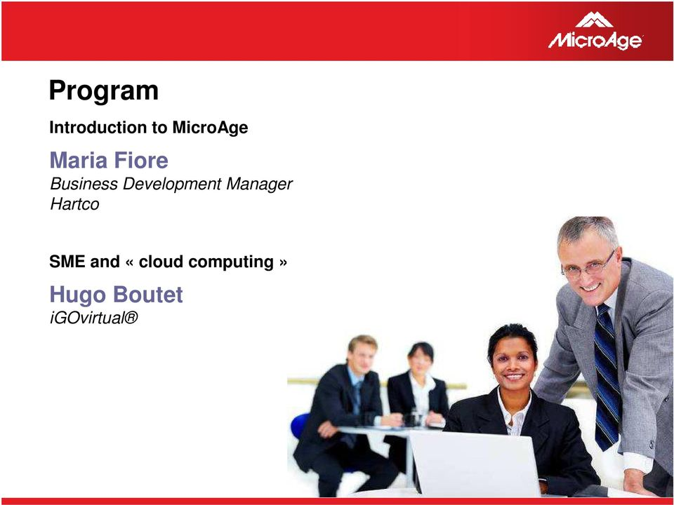Manager Hartco SME and «cloud
