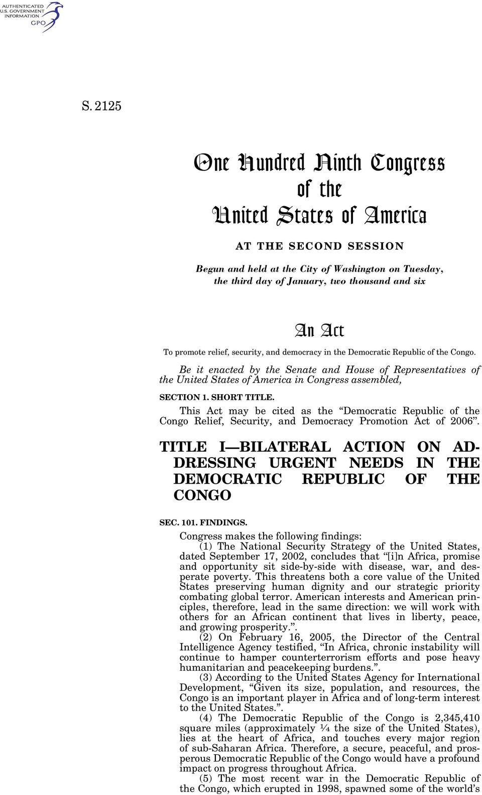 Be it enacted by the Senate and House of Representatives of the United States of America in Congress assembled, SECTION 1. SHORT TITLE.