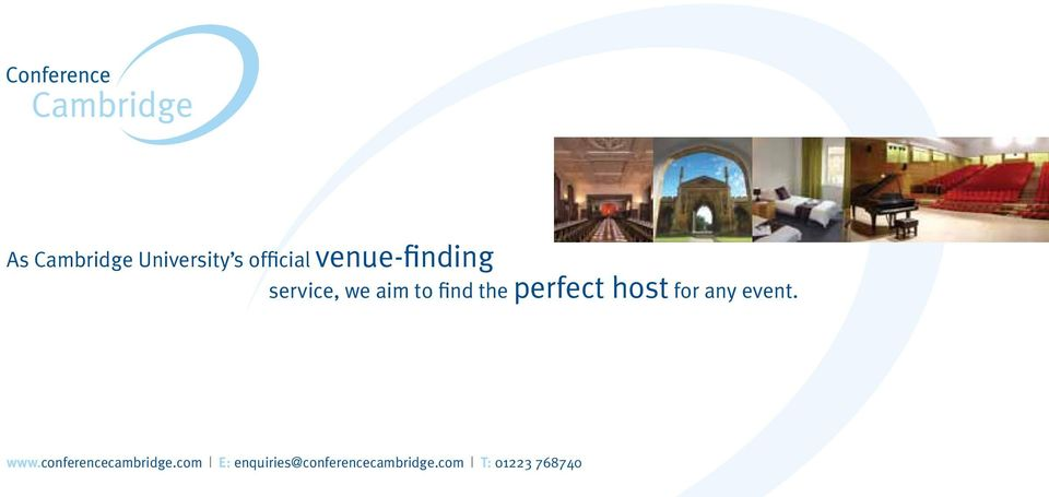 perfect host for any event. www.