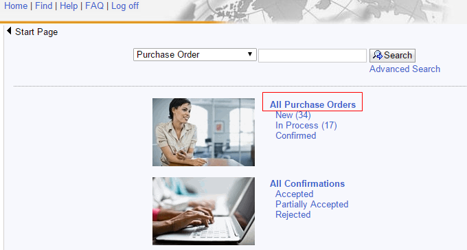 B. If you do not know the Purchase Order Number,