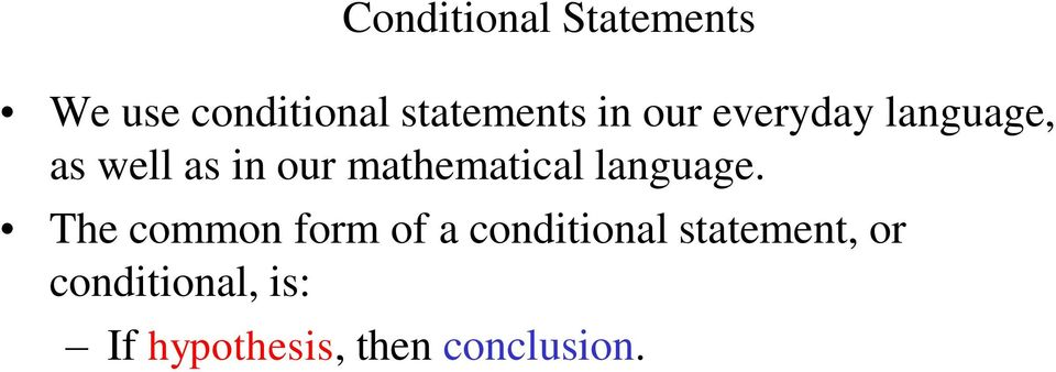 mathematical language.