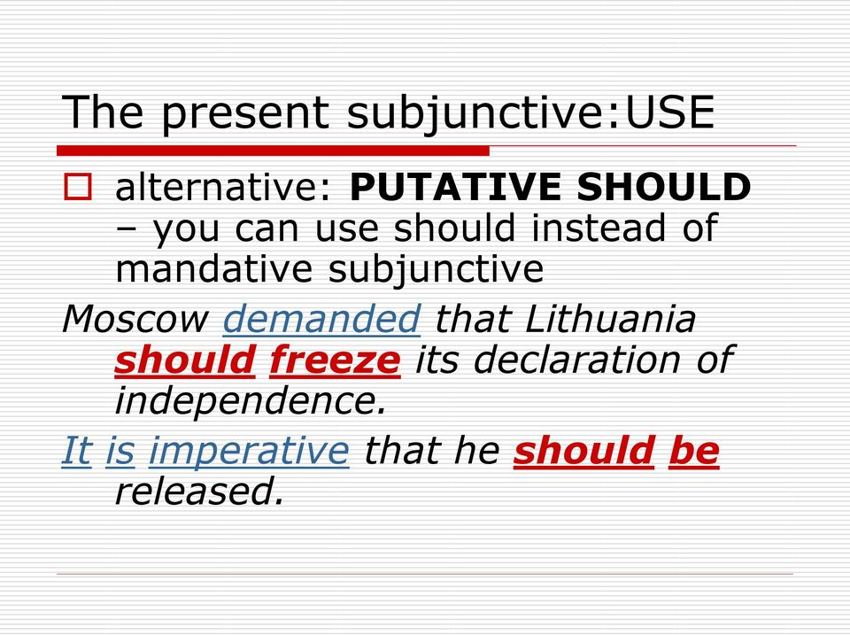Moscow demanded that Lithuania should freeze its