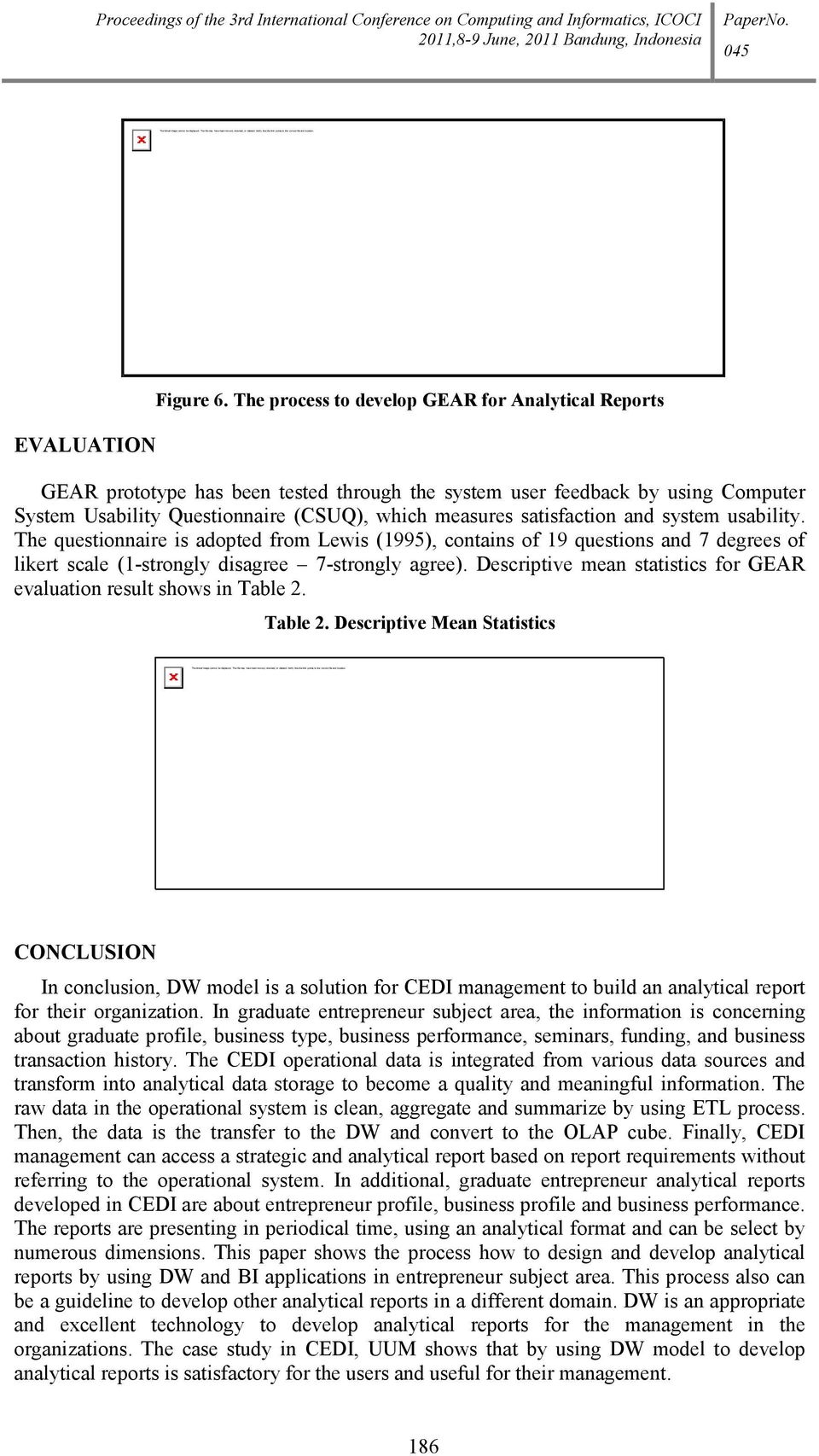 Proceedings of the 3rd International Conference on Computing and Informatics, ICOCI EVALUATION Figure 6.