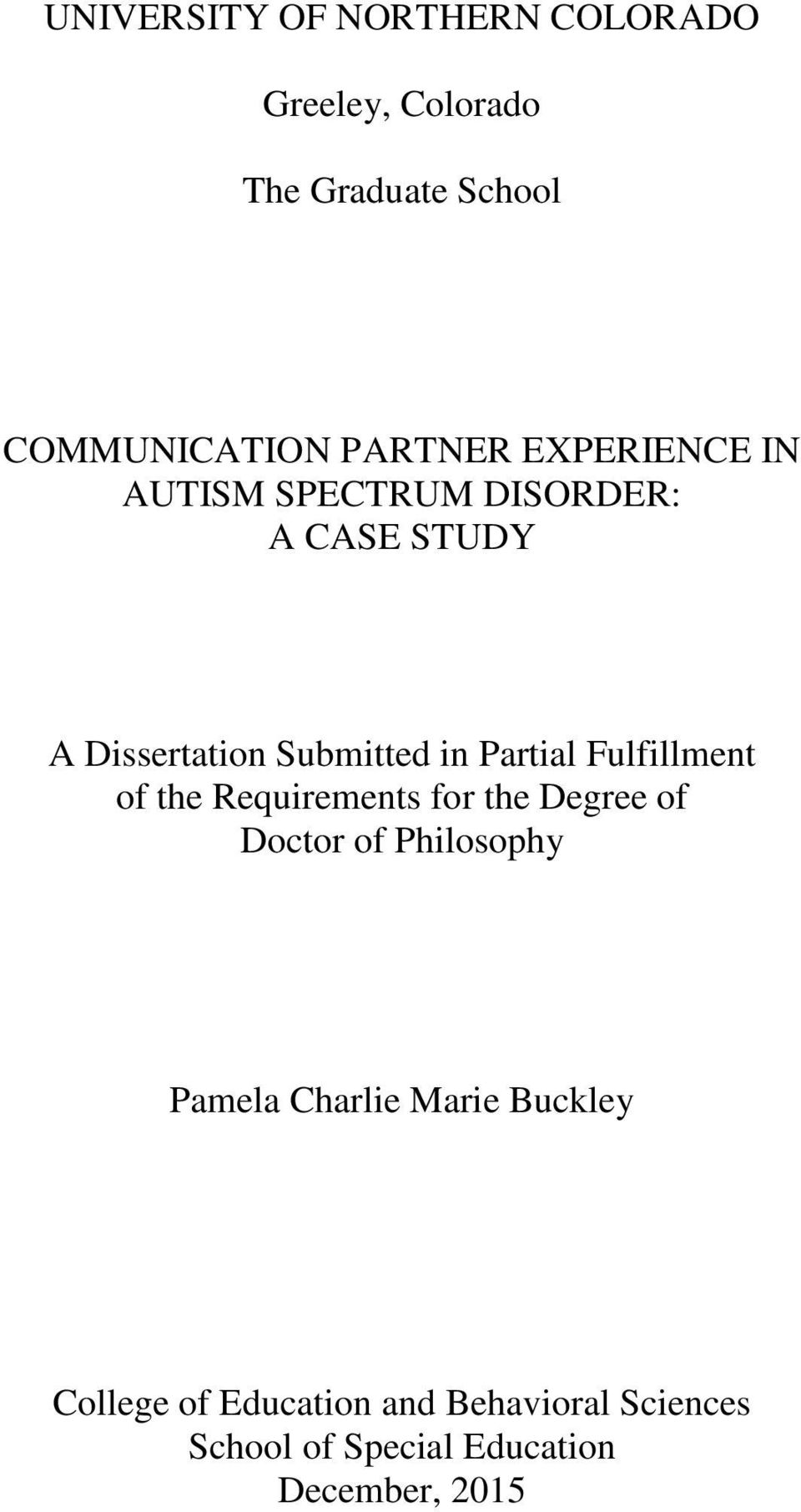 case study autism spectrum disorder Case studies for autism spectrum disorder endearing personality paired with a diagnosis of autism spectrum disorder copyright © 2012 brain time ltd.
