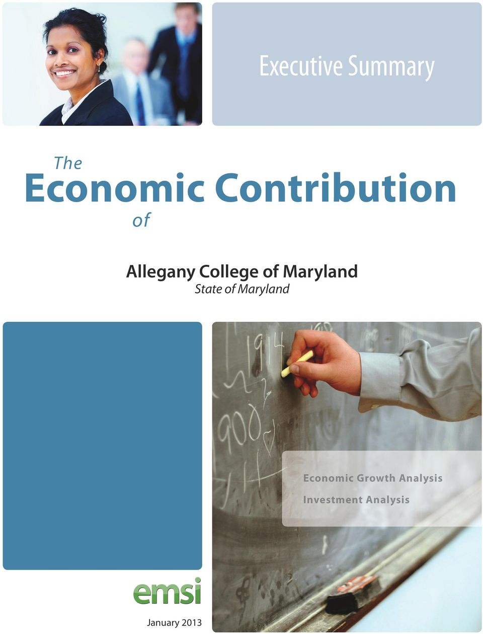 Maryland State of Maryland Economic