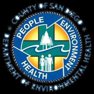 Owner/Operator Name (Please Print): County of San Diego DEPARTMENT OF ENVIRONMENTAL HEALTH FOOD AND HOUSING DIVISION P.O. BOX 129261, SAN DIEGO, CA 92112-9261 (858) 505-6900 FAX (858) 505-6998